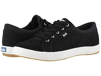Keds Center Suede Mix (Black Suede/Canvas) Women