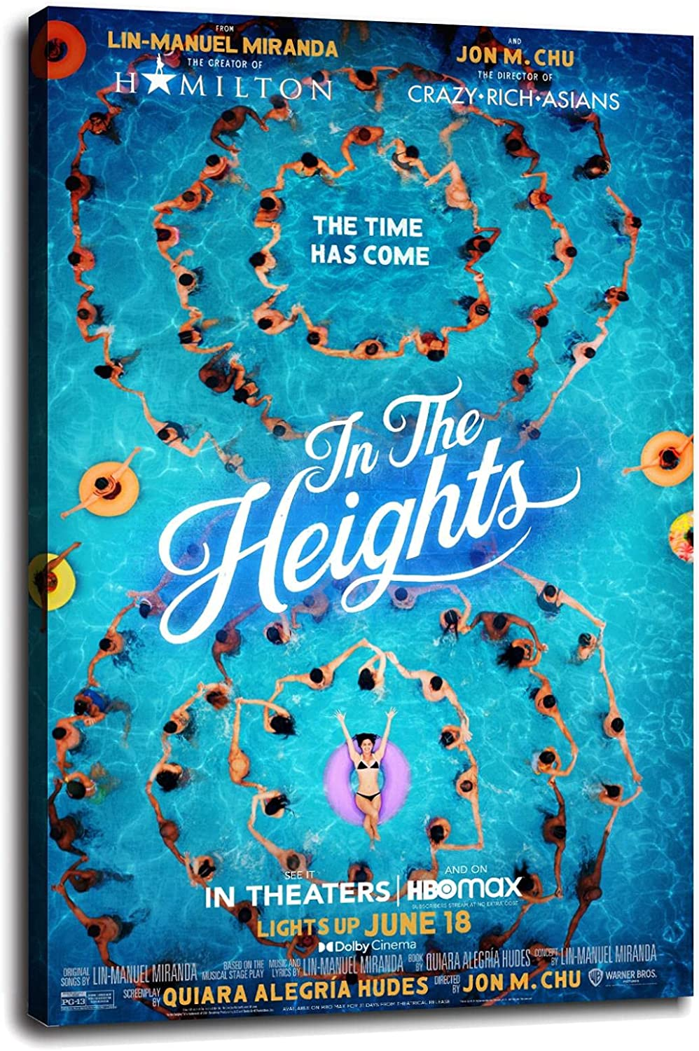 In half The Heights Canvas New sales Prints Art Wall Poster For