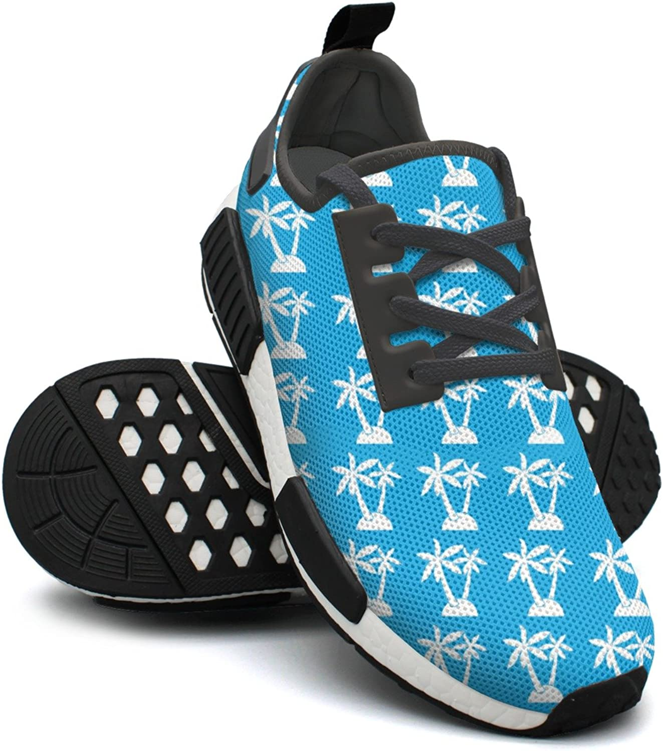 Palm Trees Icon White Athletic Running shoes Women Nmd Gym Training shoes