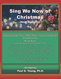 Sing We Now of Christmas (Noël Nouvelet): Instrumental Solo with Piano Accompaniment