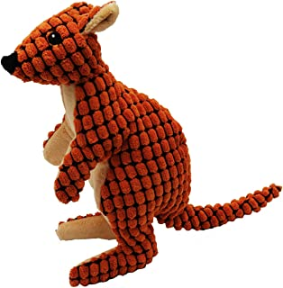 Tender-Tuffs Aussie KangarooCuddly Pet Toy-Stuffed Plush Dog Toyand CuteSqueaky Dog Toysfor All Life Stages