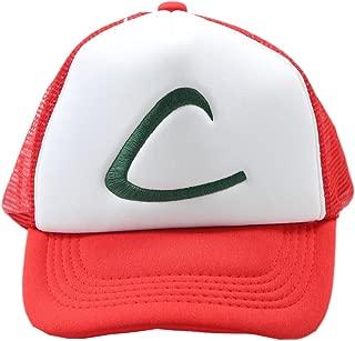 Ash Ketchum Mesh Hat Cap for Adult