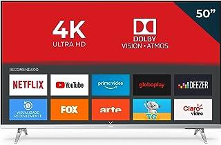 "Smart TV AOC 50"" 4K 50U6305/78G UHD 3 HDMI 2 USB HDR10+ Dolby Vision Dolby Atmos Bluetooth Wifi - Bordas ultrafinas"