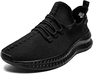 Mens Running Shoes Fashion Sneakers Tennis Shoes Walking Casual Athletic Workout Gym Training Sport Jogging Lightweight Comfortable Breathable Mesh Shoes