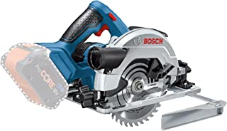 Bosch Professional GKS 18V-57 Sierra circular, disco diámetro 165 mm, sin batería, en caja, 0 W, 18 V, Azul