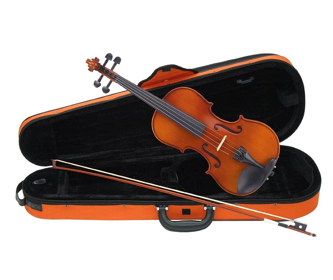 曲がった収益折カルロジョルダーノ バイオリンセット VS-1C 1/2 おれんじケース