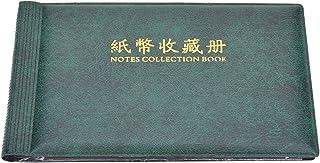 كتاب جمع النقود، ألبوم تخزين مجموعة العملات النقدية ألبوم تخزين مجموعة أوراق البننوت، حامل نقود ورقي، 30 صفحة 60 جانب لجمع...