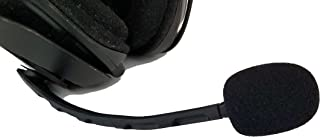 ienza Microphone Wind Pop Filter WindScreen Mic Foam for Astro A30, A40, A40 TR and A50 Headsets