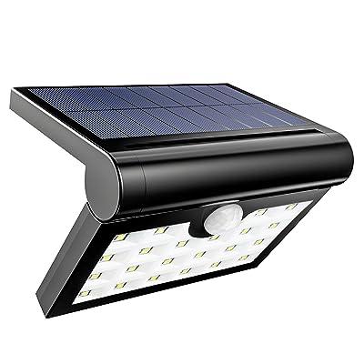 HSicily Solar Lights Outdoor Waterproof Wall Li...
