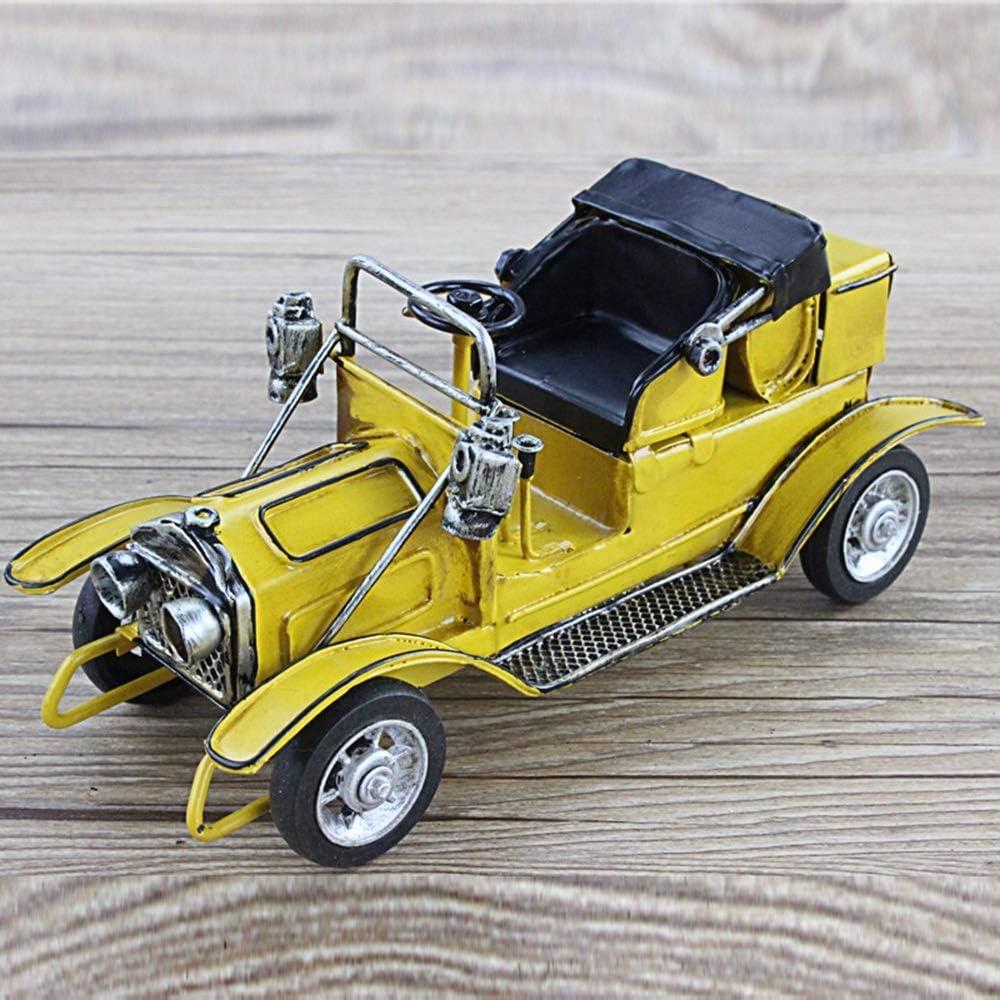 Very popular! JYMBK Ranking TOP9 Home Decor Retro Nostalgic Tin Metal Classic Crafts Car Mo