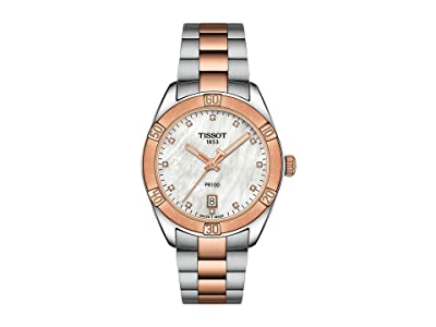 Tissot Pr 100 Sport Chic T1019102211600 (Grey/Rose Gold 5N) Watches