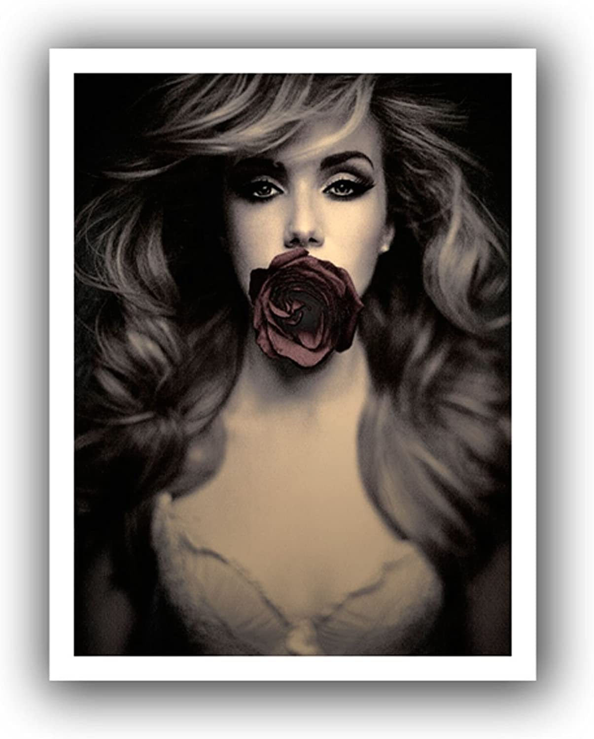 Artwall Speechless Unwrapped Canvas Art by Dean Uhlinger, 24 by 24-Inch