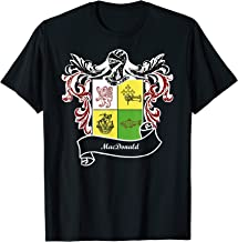 MacDonald Coat of Arms surname last name family crest  T-Shirt