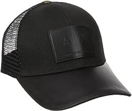 A|X Armani Exchange Men's Logo Patch Mesh Hat