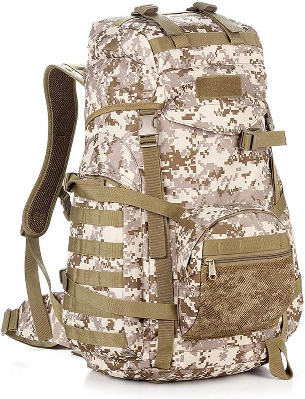 LYLTJ68 Rucksack Outdoor Sports Rucksack Camouflage Taktische Tasche Groe Kapazitt Reifestigkeit Herren für Klettern Wandern Reise Camping