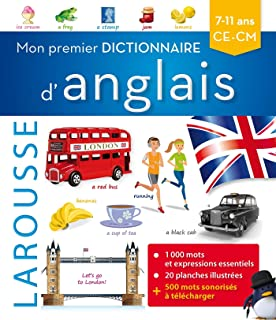Mon premier dictionnaire d'anglais