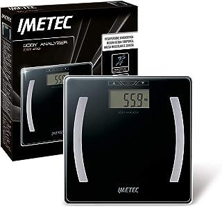 Imetec Body Analizer ES7 400 - Báscula para personas diagnostica, medición de agua corporal, masa muscular y grasa