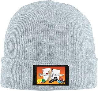 SGDRYT Tabletop Simulator Winter Warm Men Women Knitted Hat Stretch Slouchy Skull Cap