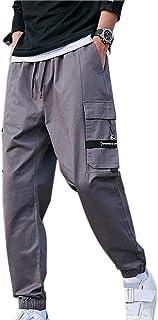 XYXIONGMAO Mens Joggers Streetwear Hip Hop Cargo Pants for Men Teenage Harlan Pants Casual Loose Sports Overalls