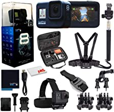 $381 » GoPro HERO8 Black Digital Action Camera - Waterproof, Touch Screen, 4K UHD Video, 12MP Photos, Live Streaming, Stabilization - with Mega Accessory Kit - All You Need Bundle