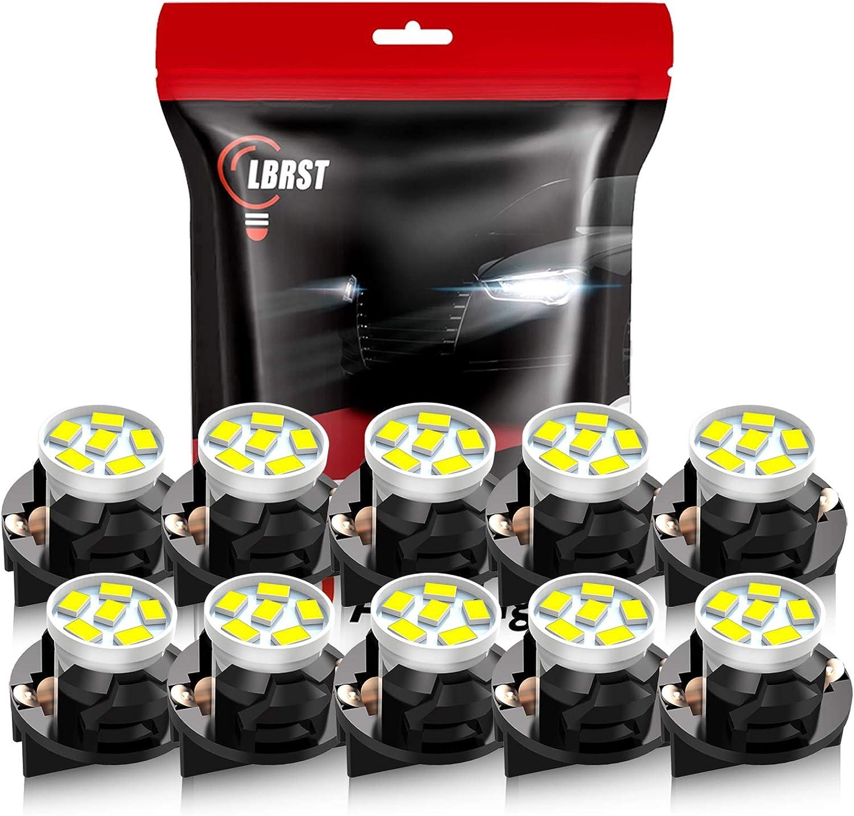 LBRST T10 Max 65% OFF LED Max 59% OFF Dash Light 168 Bulbs White Ins 194