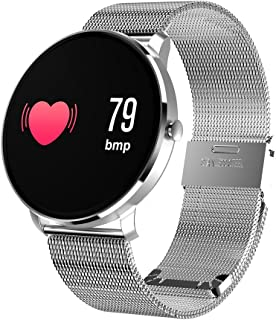 Cobcob Fashion Smart Watch 2019 New{Waterproof } Blue-Tooth Sport Fitness Tracker Blood Pressure Heart Rate Monitor Activity Tracker Digital Watch for Men Women Birthday Gift