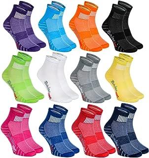 Hombre Mujer Calcetines Deporte Colores de Algodón - Pares - - Talla UE