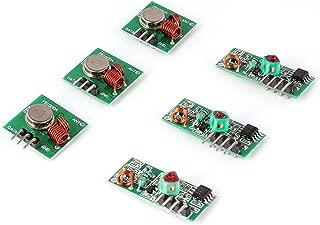 Aukru 3x 433MHz RF Wireless Transmitter and Receiver Module Kit for Arduino/Arm/McU/Raspberry pi