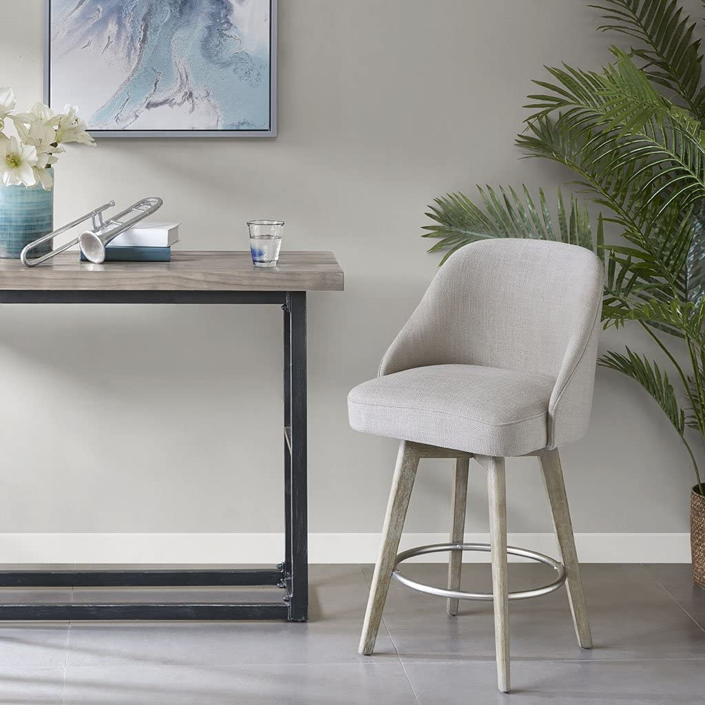 Buy Madison Park Pearce Counter Stool with Swivel Seat, 9x 9x ...