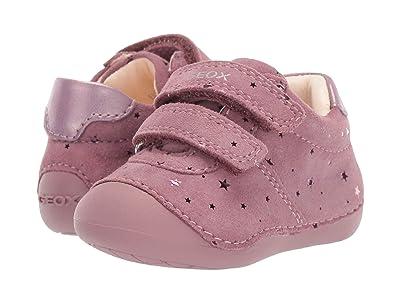 Geox Kids Jr Tutim 34 (Infant/Toddler) (Dark Pink) Girls Shoes