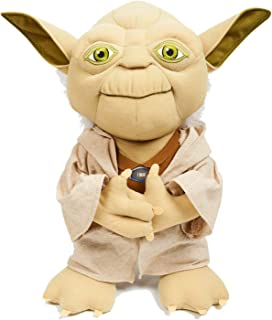 Disney Star Wars Yoda Figure by Underground Toys - Talking Plush - Says 5 Phrases - Great Present for Adult and Children - 15 Inches Tall - Ages 3 and Up - Other Characters Also Available to Collect