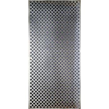 "12/"" x 24/""x .250/"" 1//4/"" Cell Aluminum Honeycomb Grid Core Mesh"