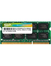 シリコンパワー ノートPC用メモリ 1.35V (低電圧) DDR3L 1600 PC3L-12800 8GB×1枚 204Pin Mac 対応 永久保証 SP008GLSTU160N02