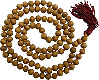 white sandalwood beads