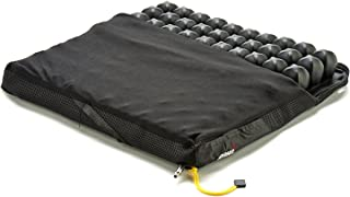 Crown Therapeutics /ROHO Low Profile Single Valve Seating and Positioning Wheelchair Seat Cushion 16-17 x 16-17 ( 1R99LPC) One Each Black