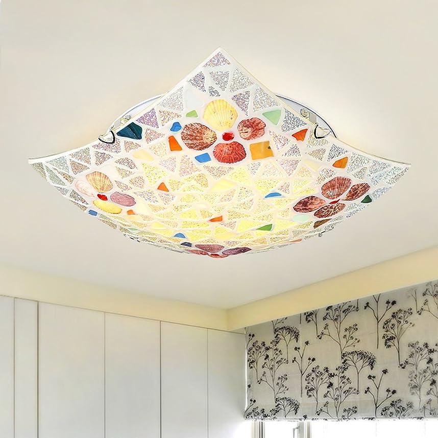 なぜなら理解他にYSYYSH 地中海の庭の寝室は天井ランプアートレストランランプ小さなリビングルーム通路バルコニーランプ30 Cm暖かい白色光を主導 寝室の装飾ライト