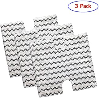 Haulonda Washable Shark Steam Mop Pads Replacement for Shark Lift-Away Pro Steam Pocket Mop and Genius Steam Pocket Mop Series, Model S3973 S3973D S5002Q S5003A S6001W S6002 S6003D and More(3Pack)
