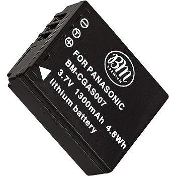 2x 1300mAh Batería para Panasonic Lumix DMC-TZ5 DMC-TZ11 DMC-TZ15 DMC-TZ50