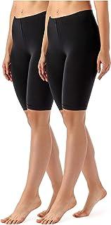 Merry Style Lote de 2 Leggins Cortos Mallas Deportivas Mujer