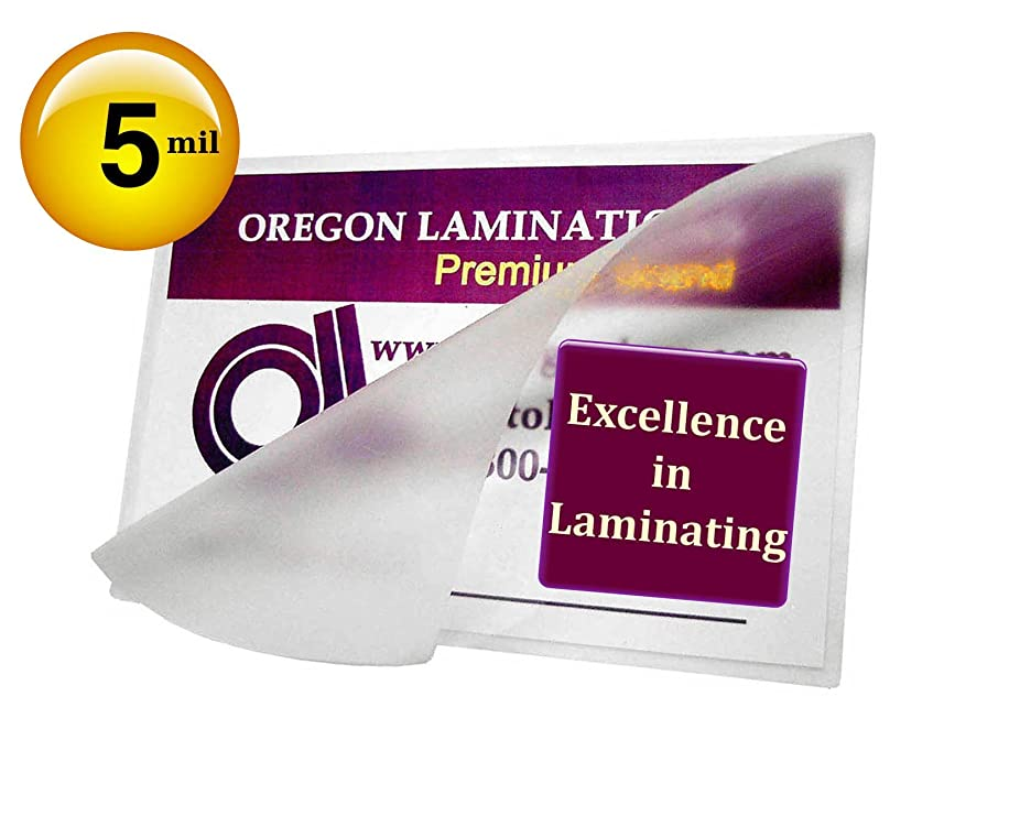 Qty 500 Wallet Photo Laminating Pouches 2-3/4 x 3-3/4 Hot 5 Mil Clear