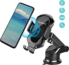 Tonkent Fast Car Wireless Charger Mount Air Vent Dashboard Phone Holder, 10W Compatible for Samsung Galaxy S9/S9+/S8/S8+/Note 8, 7.5W Compatible for iPhone Xs Max/Xs/XR/X/ 8/8 Plus
