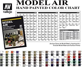 vallejo air colour chart