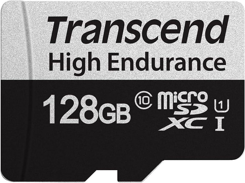 Transcend TS128GUSD350V 128GB UHS-I U1 Micro SD Memory Card
