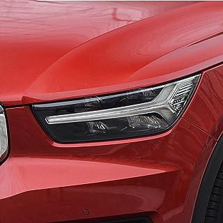 NCUIXZHFilme protetor de farol de carro, fumê preto, vinil, adesivo TPU transparente, para Volvo XC90 XC60 XC40 S60 S90 V...