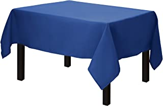 Gee Di Moda Square Tablecloth - 52 x 52 Inch - Royal Blue Square Table Cloth for Square or Round Tables in Washable Polyester - Great for Buffet Table, Parties, Holiday Dinner, Wedding & More