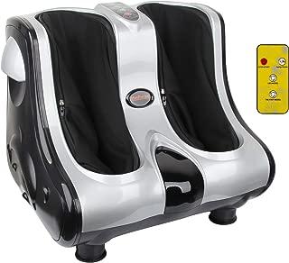 Shiatsu Kneading Rolling Vibration Heating Foot Calf Massager Personal Health Studio Leg Beautician