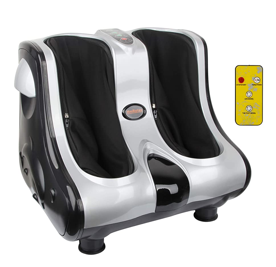 先例さようならリースHmRelax 個人 健康スタジオ脚美容マッサージ指圧、混練、圧延振動加熱足ふくらはぎ