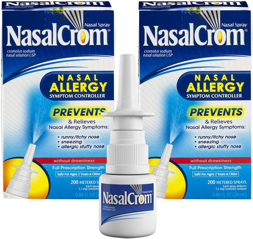 Max 62% OFF Nasal Crom Spray Prevents Max 65% OFF Allergy Relieves Symp and