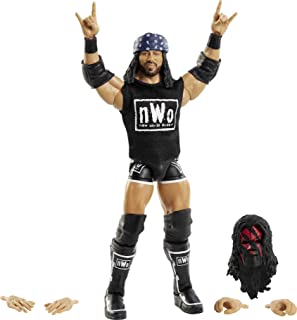 WWE X-Pac Fan TakeOver 6-in Elite Action Figure with Fan-voted Gear & Accessories, 6-in Posable Collectible Gift for WWE F...