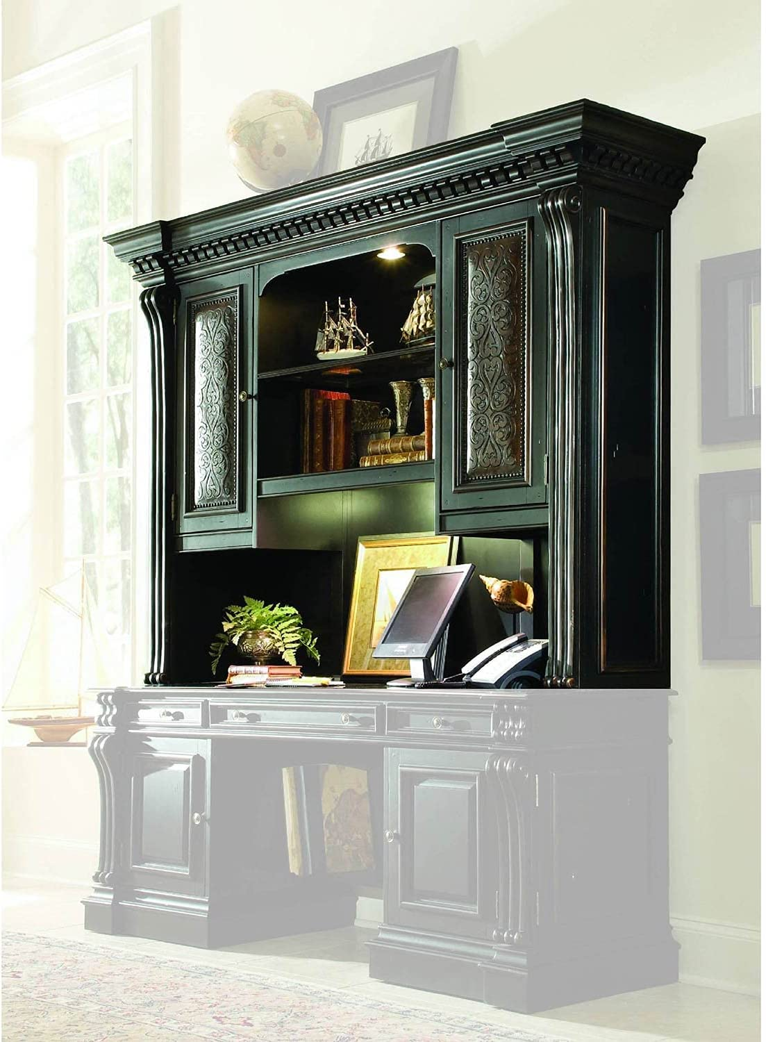 Mail order cheap Hooker Furniture Telluride Computer Hutch Credenza OFFicial site